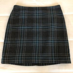 Ann Taylor Loft Tartan Skirt